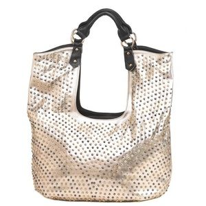 Hollywood bag by Breezy Couture...Color: Gold